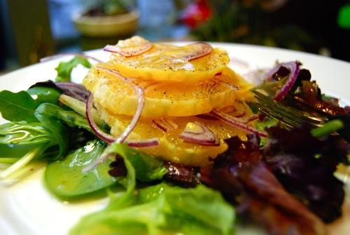 Red & Orange Salad