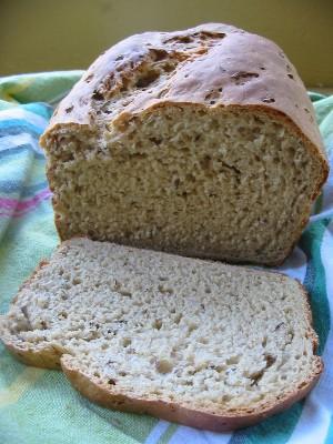 Sodium in rye bread