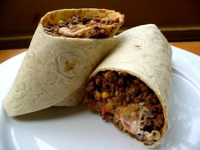 Beef & Bean Burritos » The Daily Dish