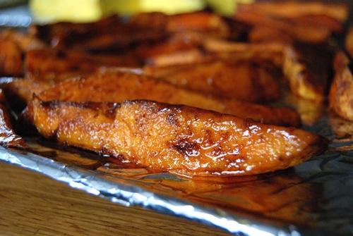 sweet potato wedges recipes dishmaps caramelized sweet potato wedges ...
