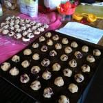 vegan orange cranberry cookies